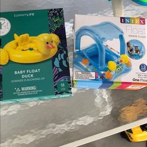 Brand New- 2 Pool Floats for babies 1-2 years